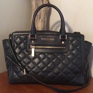 🌿 MICHAEL KORS quilted Selma